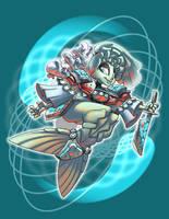 Whitewater Mermaid by Yamita