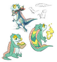 Misc Crocskink by Yamita