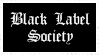 Black Label Society stamp by krassrocks