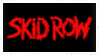 Skid Row stamp by krassrocks