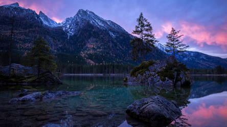 Majestic Rocky Mountain Waters by Dr-Bee