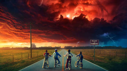 Stranger Things by Dr-Bee