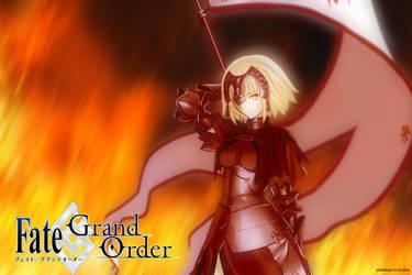 Jeane D'Arc Alter FGO by junshibuya