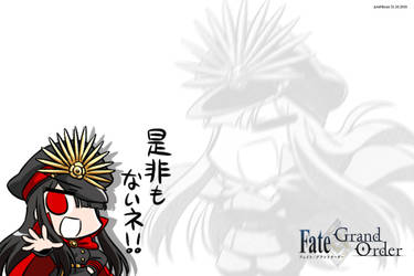 Oda Nobunaga FGO 1 by junshibuya