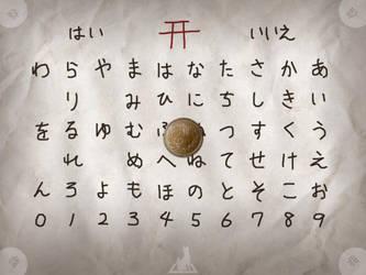 Kokkuri-san , the Japanese Oujia board by moneyistruth