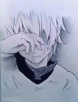 HxH - Sad  Killua by ElMetmari