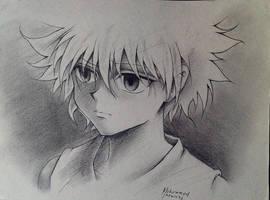 HxH Sad Killua by ElMetmari