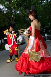 . King Mickey x Queen Minnie . by KuchikixRukia