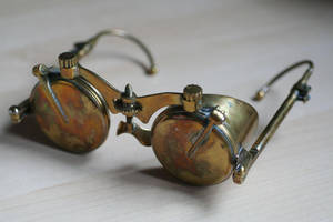 Steampunk spectacles 1 by Gogglerman