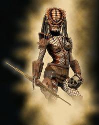 Heads Huntress by Vehemel