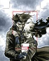 Rogue and Gambit by RichardCox