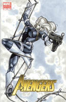 Sharon Carter Avengers 1 Cover by RichardCox