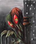 Hedorah the Smog Monster by RichardCox