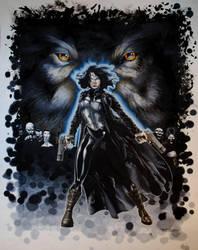 Underworld Awakening IMAX Art by RichardCox