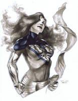 Dark Phoenix Con Sketch by RichardCox