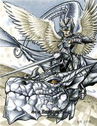 Dragon Rider Dungeon Dolls AP by RichardCox