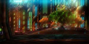 Kerwan - Metropolis City by InfernoXDragon