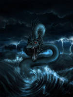 King of the Boiling Sea by zilla774