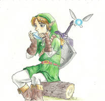 Tuning in (The Legend of Zelda: Ocarina of Time) by SaveTheGnomes13