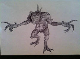 Fallout 3: Deathclaw by SaveTheGnomes13