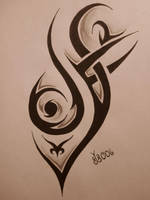 Tribal Tattoo Design 4 by blackbutterfly006