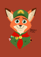Young Nick Wilde (Disney) by Yoshiknight2