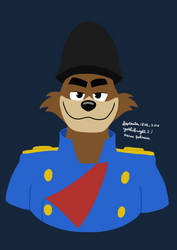 Don Karnage (Ducktales) by Yoshiknight2