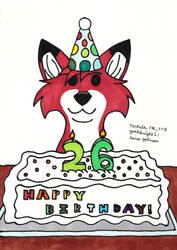 Happy 26th Birthday!!! by Yoshiknight2