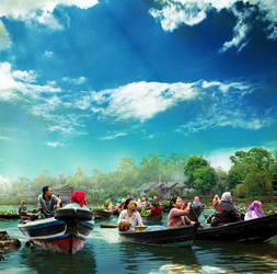 Float Market by randyrakhmadany