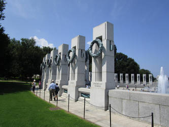 World War II Memorial by AgnosticDragon
