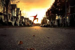 skateboarding by SmashingPlanets