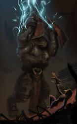 Diablo iii Demon Hunter on the Edge by lancerdrake