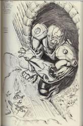 Cyborg of Teen Titans by lancerdrake