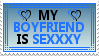 My Boyfriend Is Sexxxy Stamp 1 by OckGal