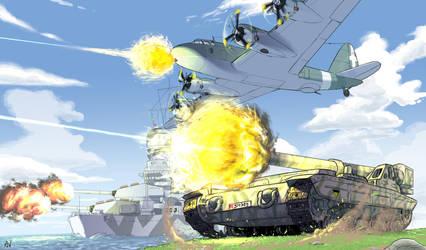 Big Guns by Andrea-Verga