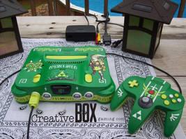 Majora's Mask Custom Zelda Nintendo 64 by CreativeBoxGaming