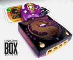 Mortal Kombat Custom Dreamcast Console by CreativeBoxGaming