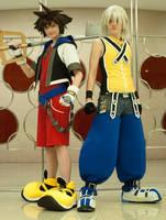Sora and Riku - no. kabillion by xHee-Heex