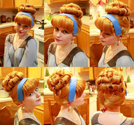 Cinderella Wig Commission - Test by xHee-Heex