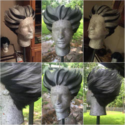 Bokuto Wig from Haikyuu by xHee-Heex