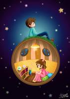 Distance : CG Sphere by famechan
