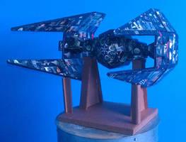 cardboard forge: star wars tie interceptor by lewislain
