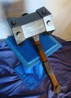 ajax battle hammer by lewislain