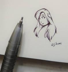 weekend doodle by EunniePop
