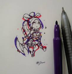 request : hanabi ml by EunniePop