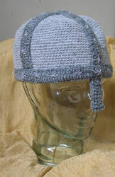Crochet Norman Helmet by opus-palladianum
