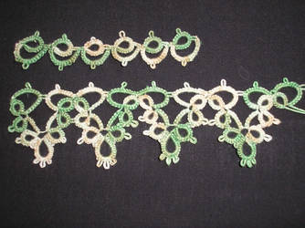 Tatting practice detail of the decent stuff by opus-palladianum