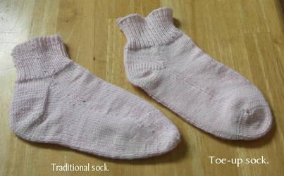 My socks by opus-palladianum