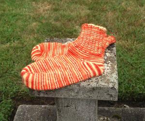 My Orange Socks by opus-palladianum
