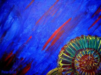 Ammonite at Sea by BondArt